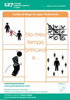 Atividade n.º 127: Bingo de Jogos Tradicionais - Atividade de Patrícia Capelão