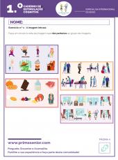 1.º Caderno de Estimulação Cognitiva - Especial Dia do idoso